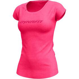 Dynafit 24/7 Drirelease Koszulka z krótkim rękawem Kobiety, fluo pink melange